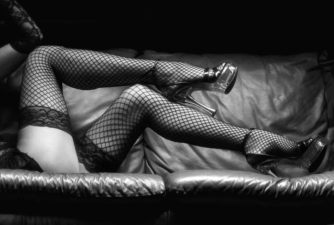 Erotic photographs at home