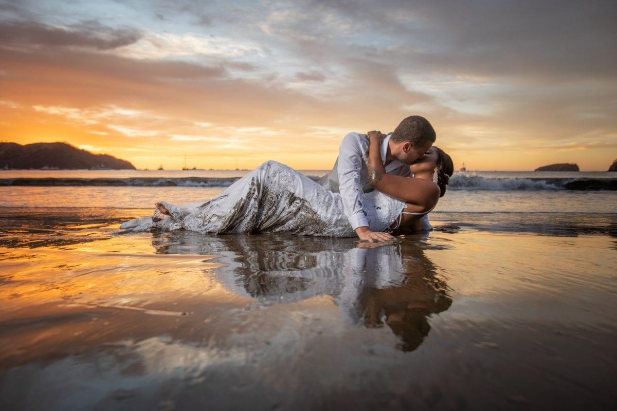 David & Stephannie's Tropical Beach Wedding