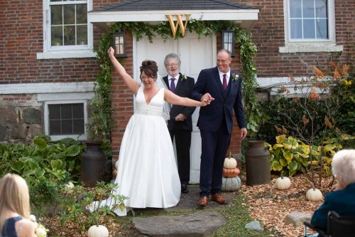 Chris and Cliff's Michigan Farmhouse Wedding