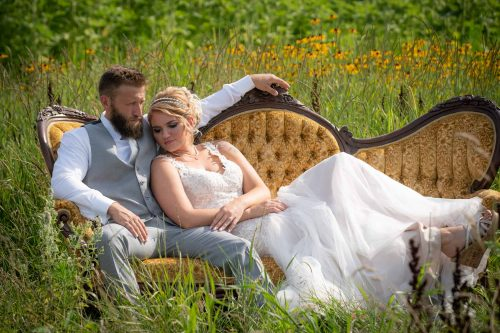 Ronald & Allessa's Frankenmuth Farm Wedding